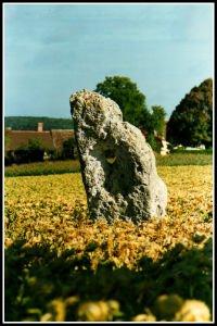 Menhir percé de Ste Maure de Touraine