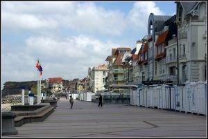 Le front de mer à Wimereux